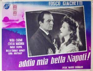 Addio, mia bella Napoli!