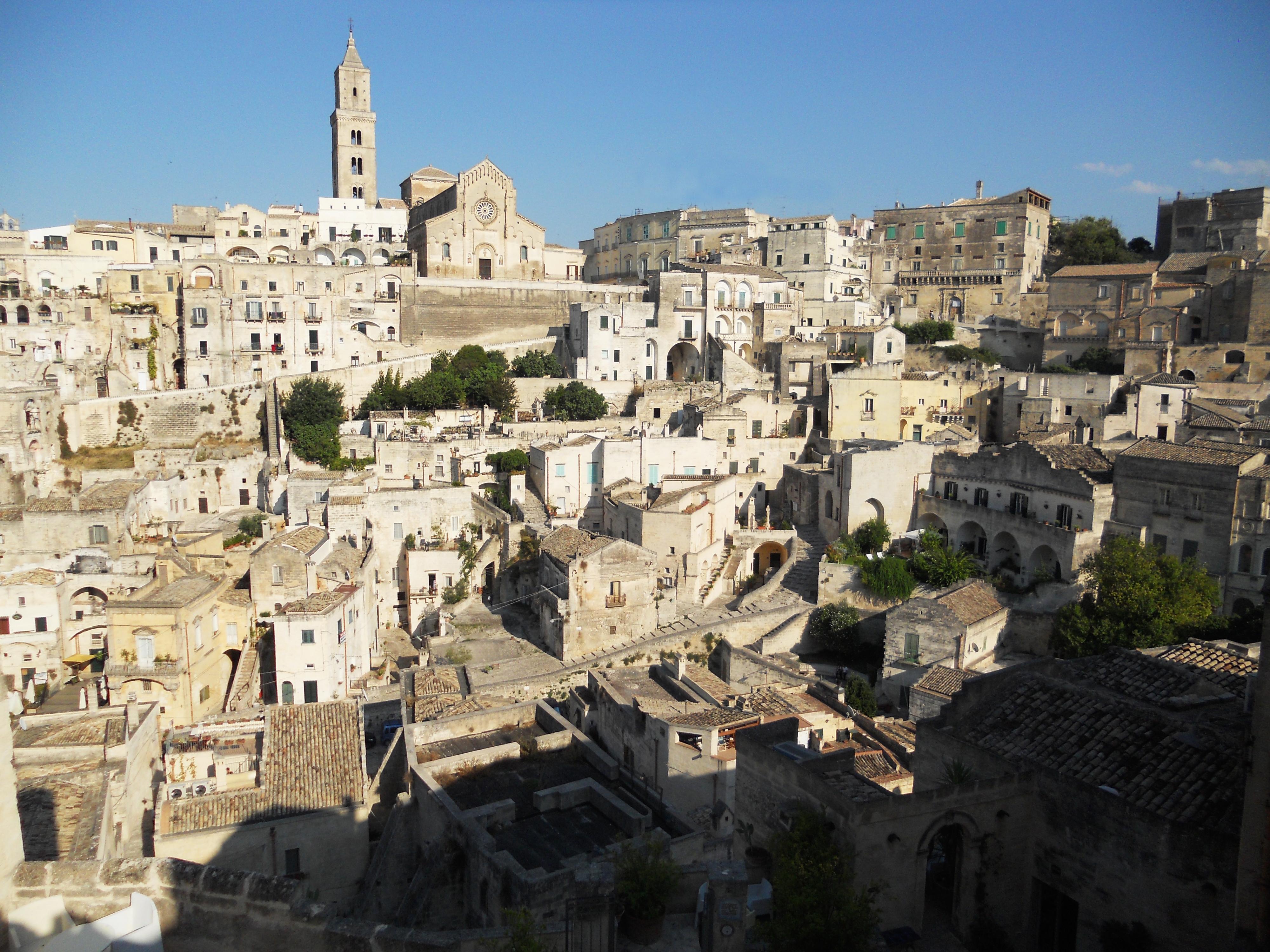 riprese film in italia Matera