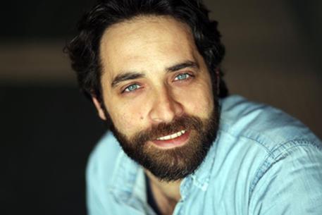 OSIMO (ANCONA) -  l'attore Antonio De Matteo, protagonista del film 'Malerba', girato a Osimo.