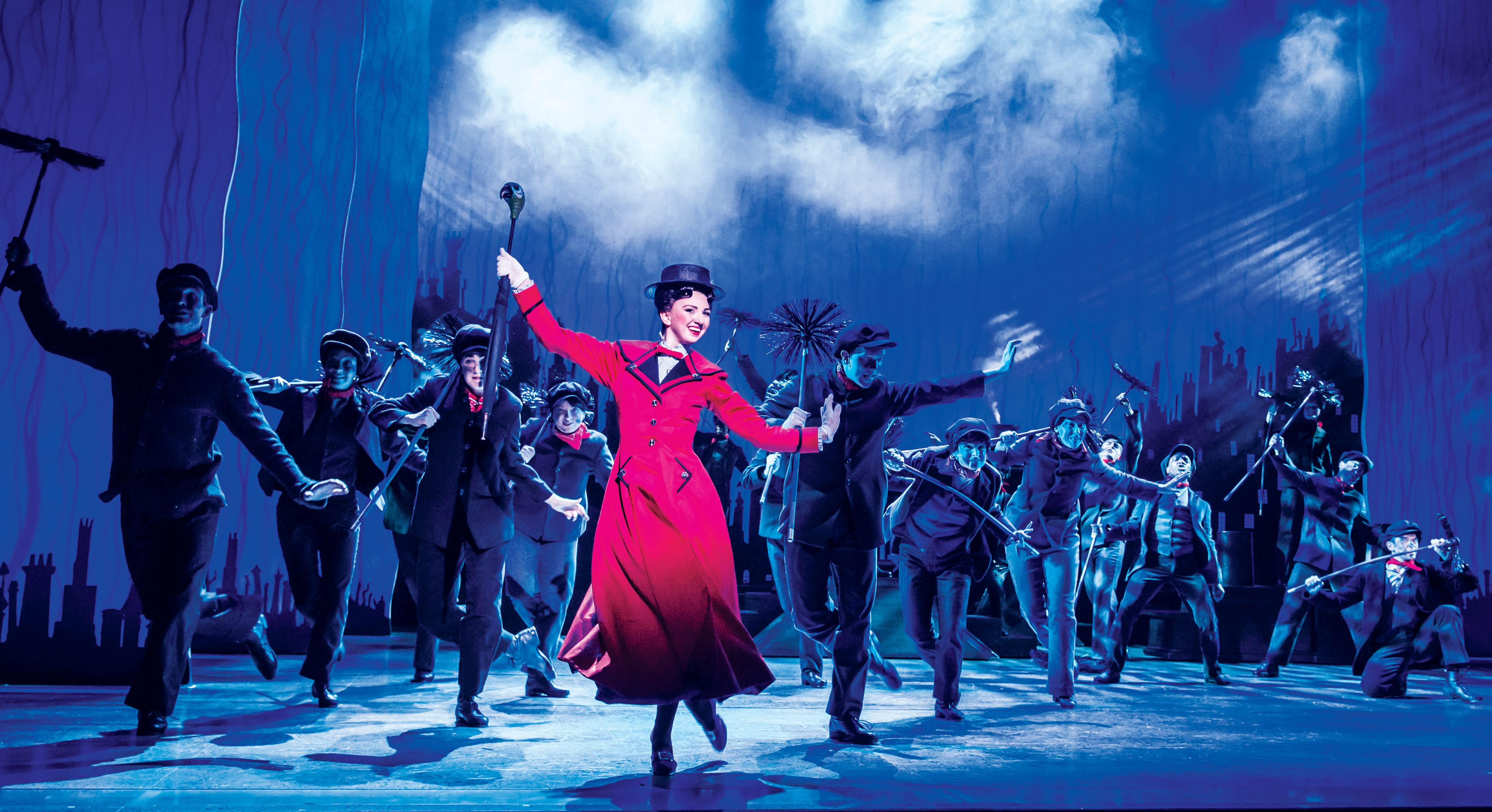 MARY_POPPINS_-_Step_In_Time_-_Zizi_Strallen_as_Mary_Poppins_and_the_Company._Photo_credit_Johan_Persson