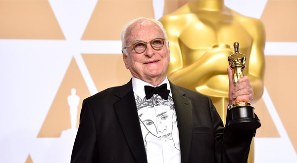 Italy wins with James Ivory at the 2018 Oscars