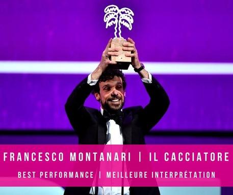 Francesco Montanari vince a Canneseries