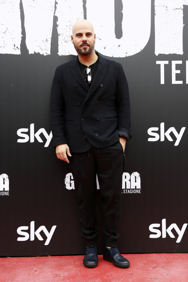 ROME, ITALY - NOVEMBER 13:  Marco D'Amore attends the 'Gomorra' photocall at Ex Dogana on November 13, 2017 in Rome, Italy.  (Photo by Ernesto Ruscio/Getty Images)
